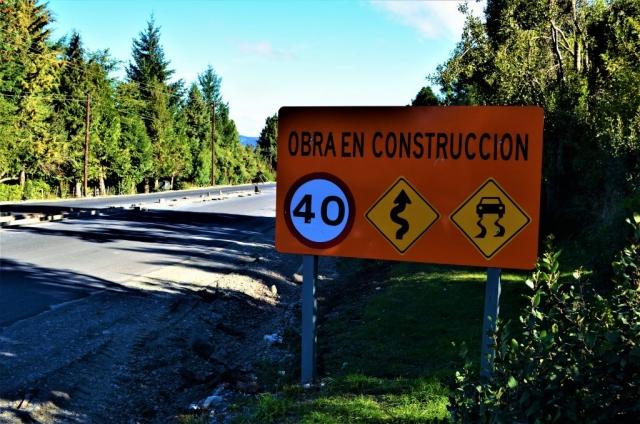 Cartel preventivo obra en construcción