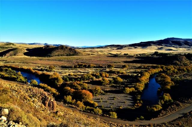 Vista de río Malleo desde RP23