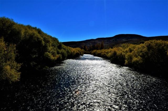 Vista de Río Malleo desde puente actual en RP23