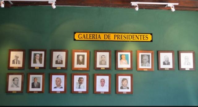 Vista de la Galería de Presidentes